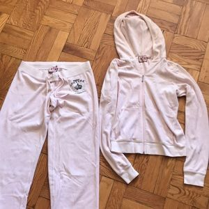 Juicy couture velour set